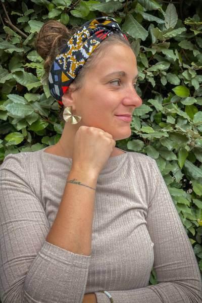 headband en wax provenant de tanzanie